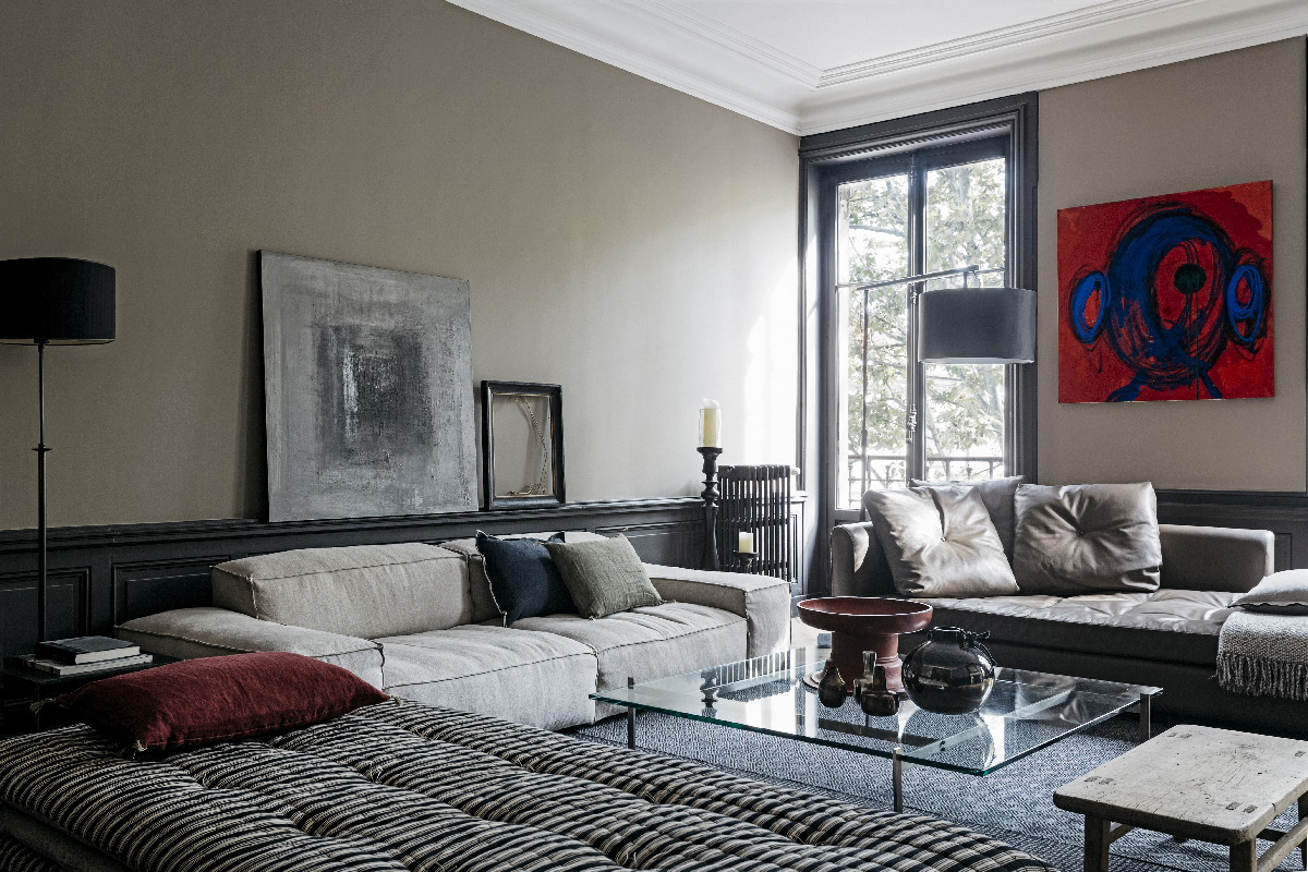 Decordemon stylish artistic apartment in france by studio for Maison home design lyon
