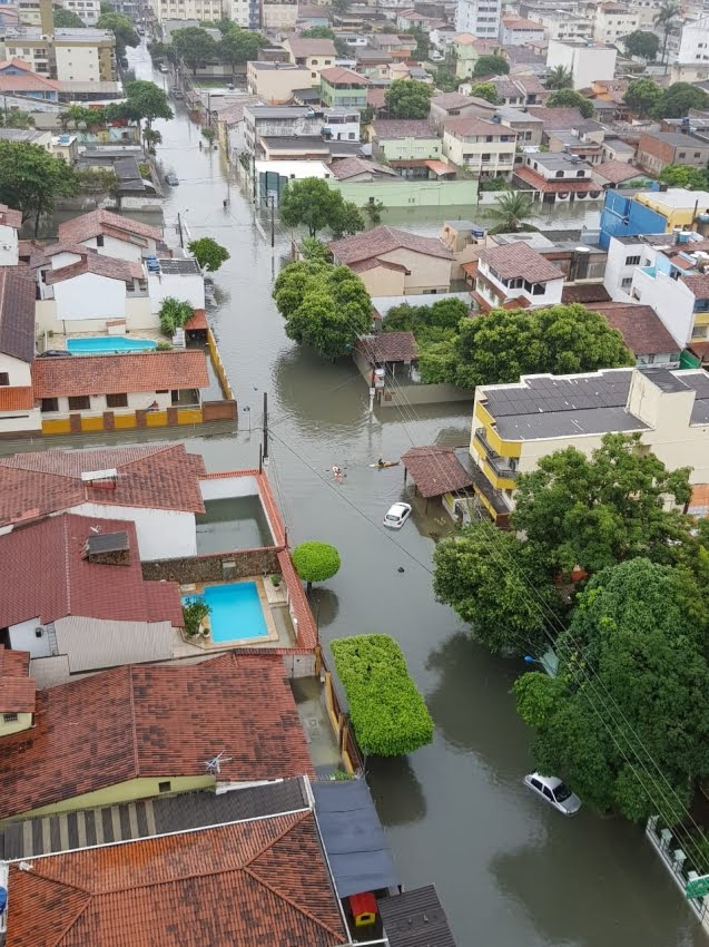 Chuvas. Grande Vitória ES, 18.05.2019