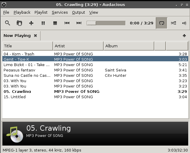 How to install audacious music player on archlinux