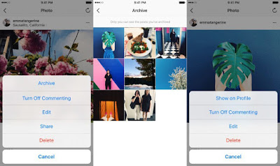 Instagram's archive option now available for everyone