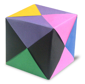 How to Fold Origami Paper Cubes - Frugal Fun For Boys and Girls   283x287