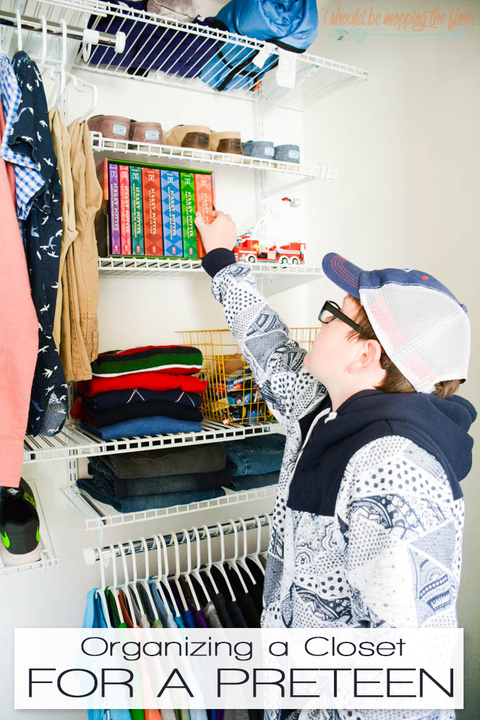 Organizing a Closet for a Preteen