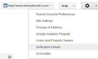 Mengembalikan kode verifikasi google webmaster1