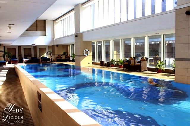 Indoor Pool at Oakwood Manila