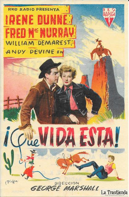¡Que Vida Esta! - Programa de Cine - Irene Dunne - Fred MacMurray