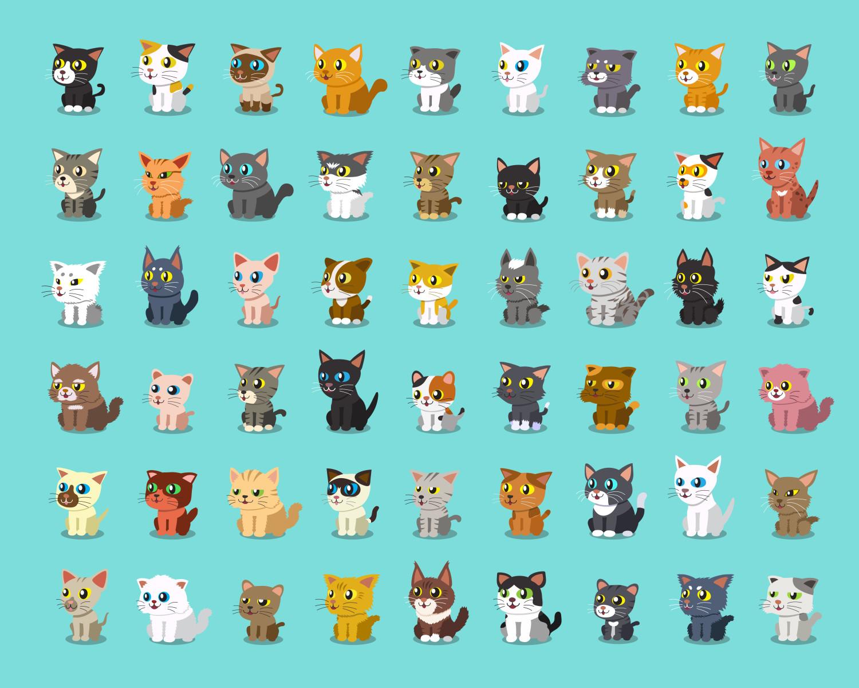 gambar gambar lukisan kucing
