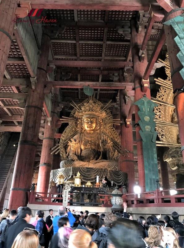 todaiji kokuzo bosatsu deity of wisdom memory