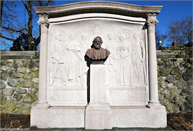 Monumento a Longfellow en Cambridge