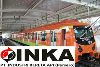 Lowongan Kerja Karyawan BUMN Tingkat Lulusan D4 & S1PT Industri Kereta Api Indonesia