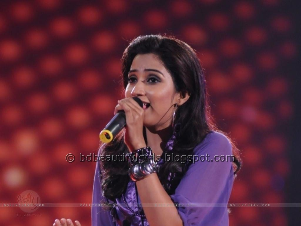 Singer Shreya Ghoshal Cute Photos  Stock Foto Hot-4300
