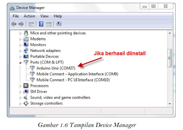 Gambar 1.6 Tampilan Device Manager