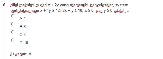Soal Ukg Matematika Sma Pdf