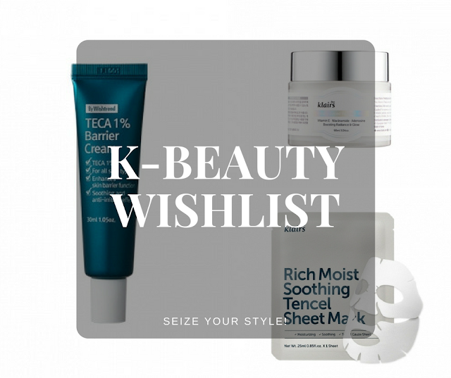 Korean Beauty Wishlist