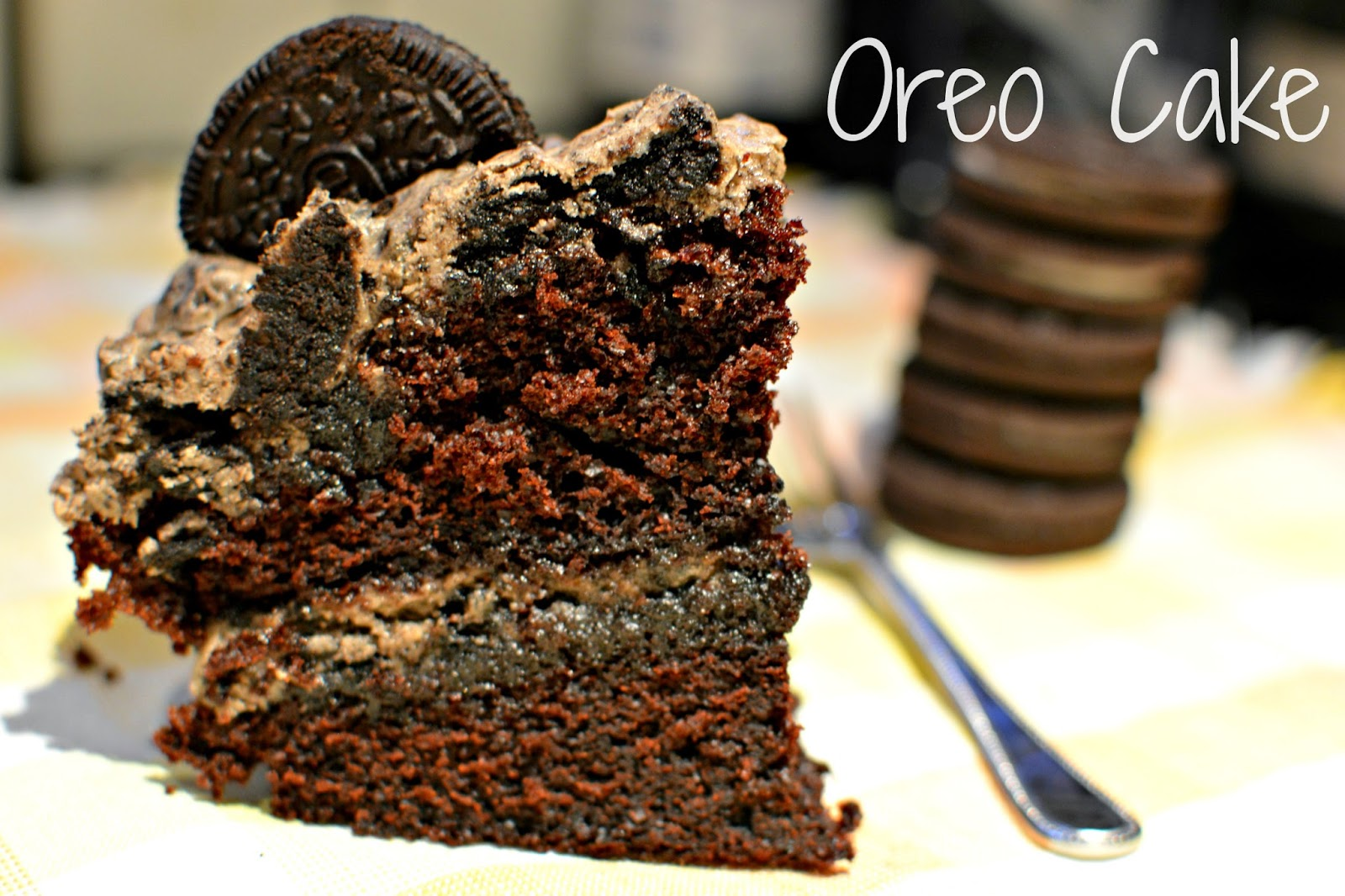 Double stuffed oreo cake recipe