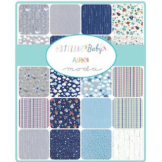 Moda Stellar Baby Fabric by Abi Hall for Moda Fabrics
