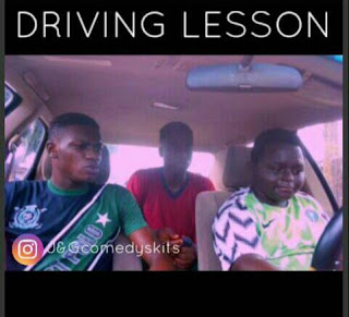 "[Funny Skit] Driving Lesson (1) by ""JohnRapking"