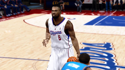 NBA 2K13 DeAndre Jordan Face NBA2K Patch