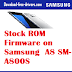 Stock ROM Firmware on Samsung  A8 SM-A800S