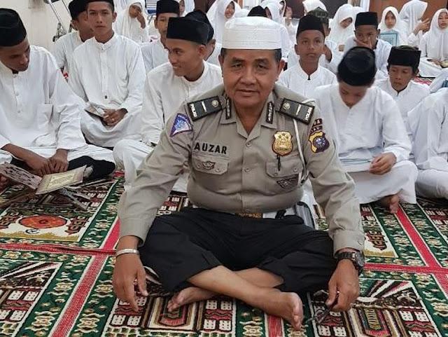 Kebengisan Teroris Tak Bisa Dimaafkan! Ipda Auzar, Muazin Inipun Gugur Jadi Korban Kekejian Aksi Serangan di Mapolda Riau