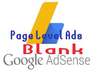 Cara Mengatasi Iklan Page Level Ads Tidak Muncul