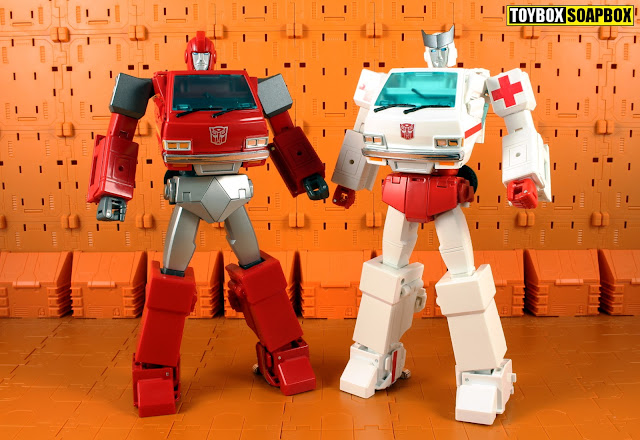 Shadow Fisher SF-M03 & SF-M04 upgrade kits for Masterpiece Ironhide and Ratchet
