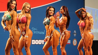 اللياقة البدنية والشكل المنافسة