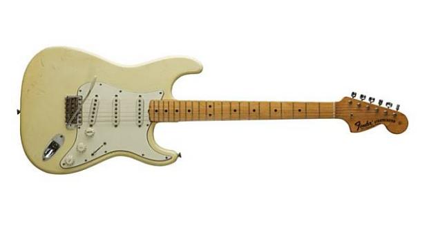 Gitar termahal di dunia: Jimi Hendrix's 1968 Stratocaster