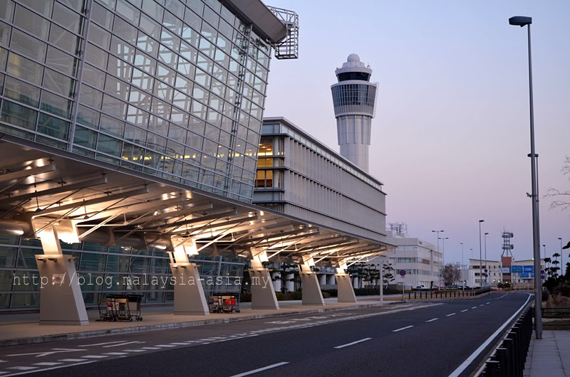 Chubu Centrair Airport in Nagoya Japan