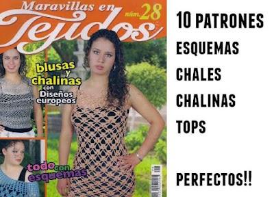 Revista 10 patrones maravillosos de croche