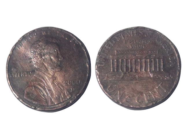 Lincoln Penny 2000 - Unique bd36