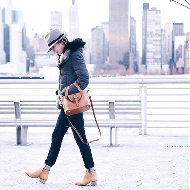 STREET STYLE  Φουσκωτό μπουφάν! Δείτε τα καλύτερα Outfits  64d06bca466