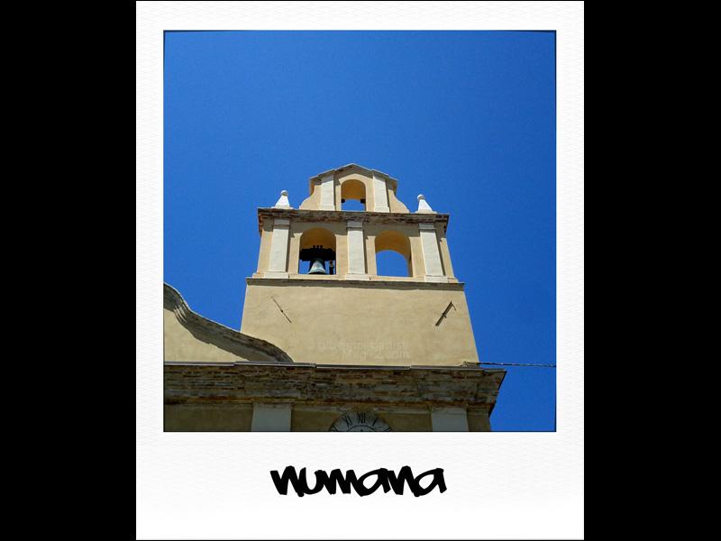 Il campanile di Numana