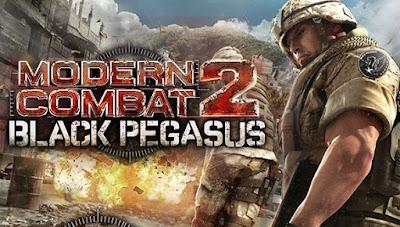 Modern Combat 2 Black Pegasus Apk + Data for Android All GPU
