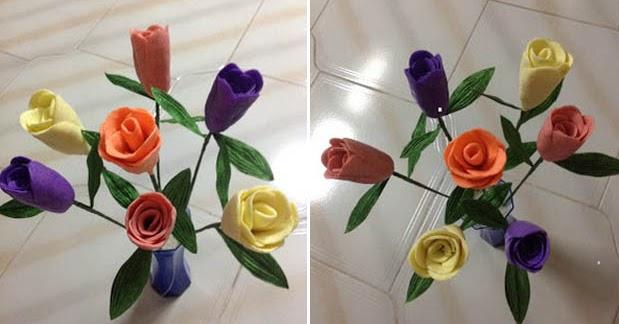 Download Gambar Bunga Lilin Plastisin