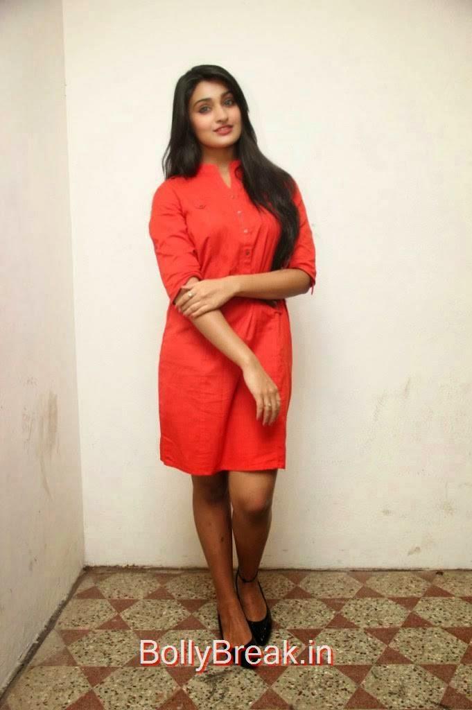 Jai Quehaeni Pics At CSK Movie Audio Launch, Actress Jai Quehaeni Hot Pics in red Dress