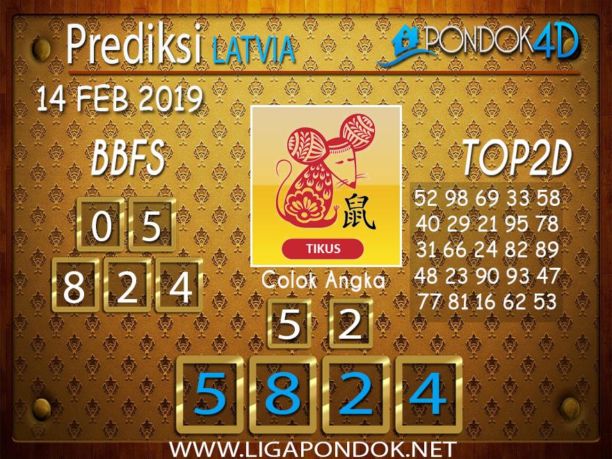Prediksi Togel LATVIA PONDOK4D 14 FEBRUARI 2019