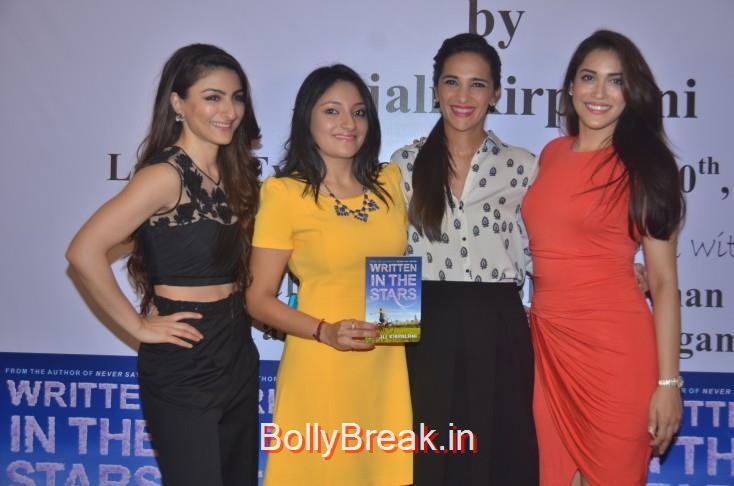Soha Ali Khan, Anjali Kirpalani, Tara Sharma Saluja and Rashmi Nigam, Soha Ali Khan, Tara Sharma Saluja And Rashmi Nigam Unveil Anjali Kirpalani's Book