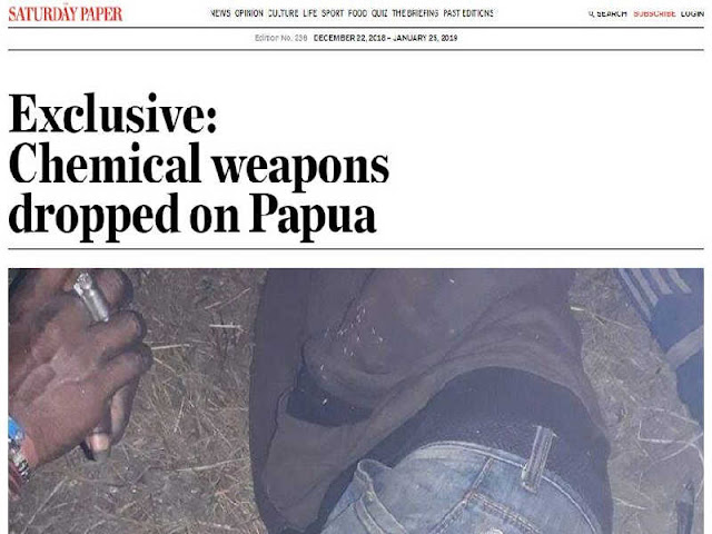 Kodam Cenderawasih Bantah Gunakan Bom Fosfor di Nduga