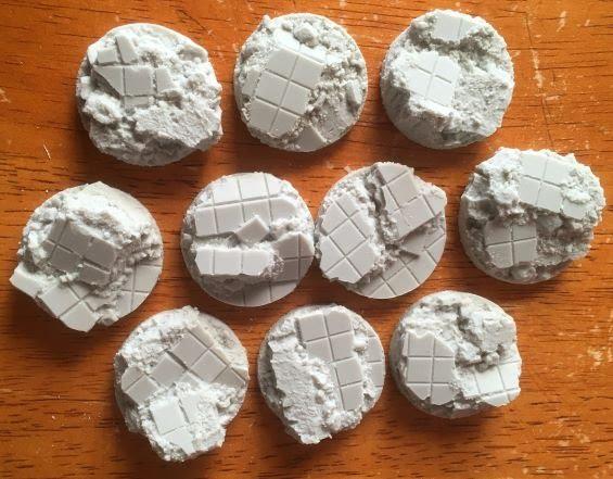 Warpstone Flux: Bigmeks Workshop Tiles Resin Bases