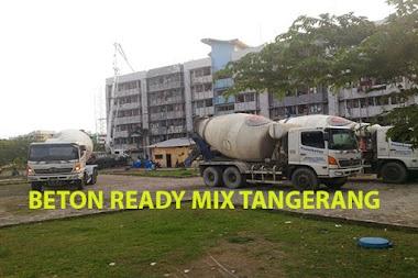 HARGA BETON COR READY MIX TANGERANG PER M3 2021
