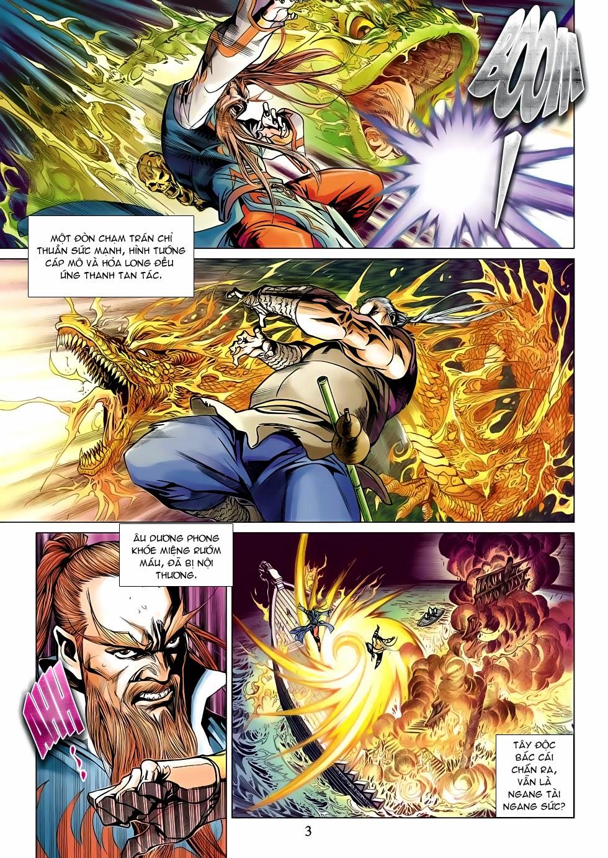 Anh Hùng Xạ Điêu anh hùng xạ đêu chap 53: lâm nguy thụ mệnh đả cẩu học pháp trang 4