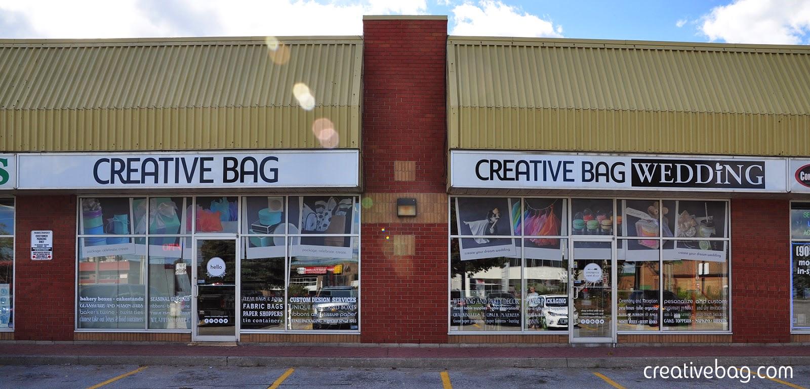 hello and welcome to Creative Bag Pickering | creativebag.com