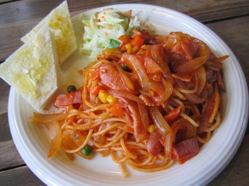 Napolitan Spaghetti Gaucho Towada Cafe ナポリタンランチ ガウチョ 十和田市 カフェ