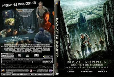 Filme Maze Runner - Correr ou Morrer (The Maze Runner) DVD Capa