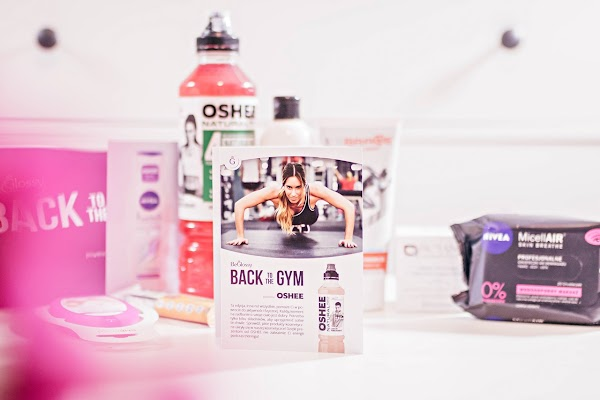 "beGLOSSY Back To The Gym {przegląd ""pudełka""  listopad 2018}"
