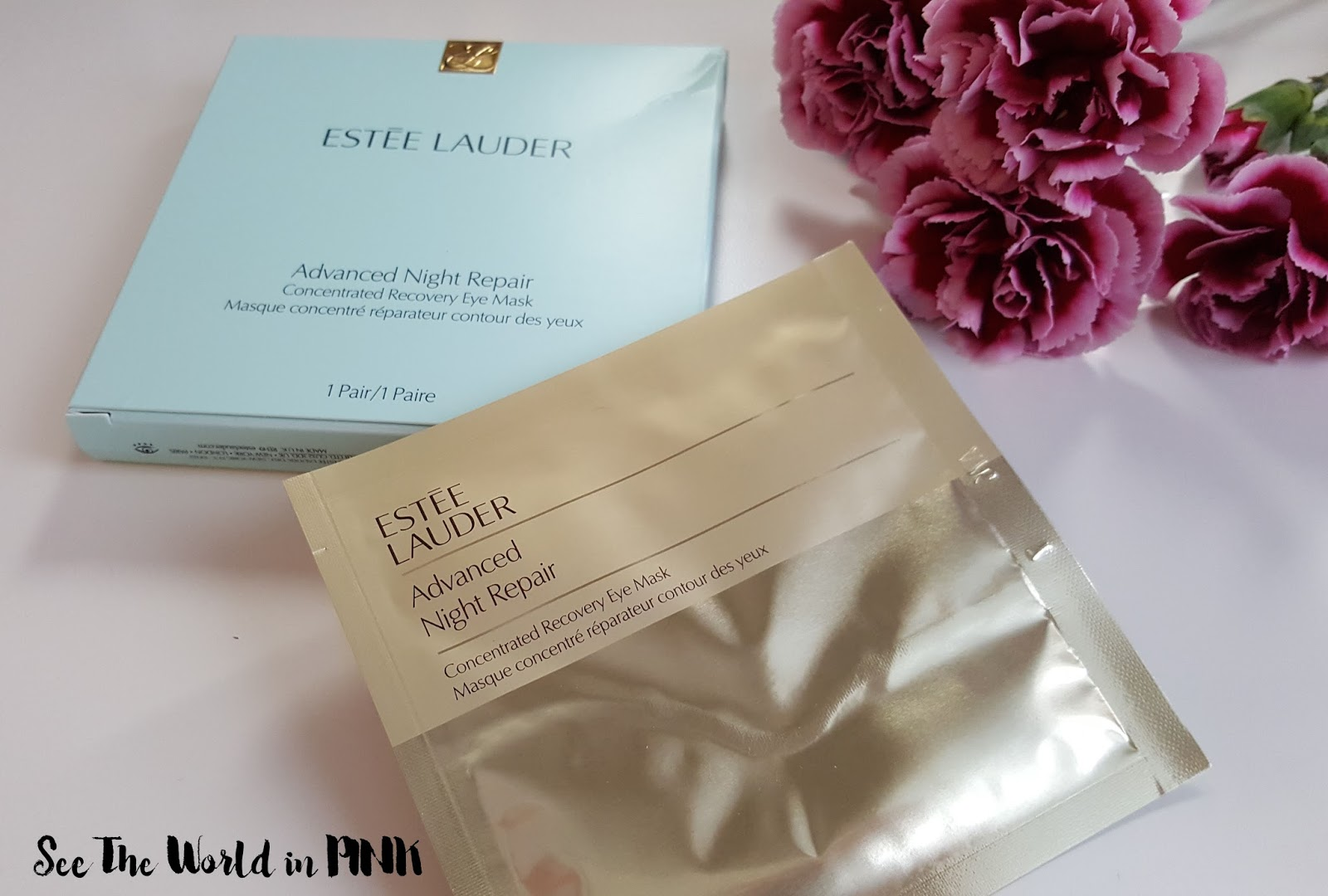 Skincare Sunday - Estee Lauder Advanced Night Repair Concentrated Recovery Eye Mask Review