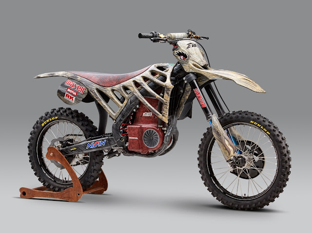Honda Electric Motocross Bike