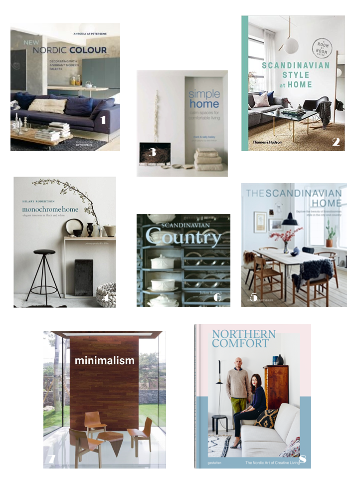 scandinavian northen interiors style books
