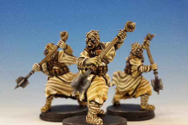 Tusken Raiders, Imperial Assault FFG (2015, sculpted by B. Maillet)