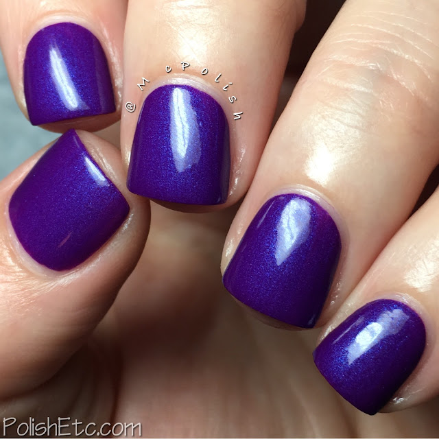 Native War Paints - Purple Reign Collection - McPolish - Heliotrope in the Garden